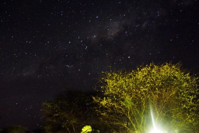 Sternenhimmel in Botswana
