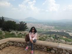 Mt. Tabor far behind