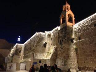 The Nativity church, where Jesus was born