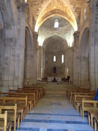 St Anna church interior