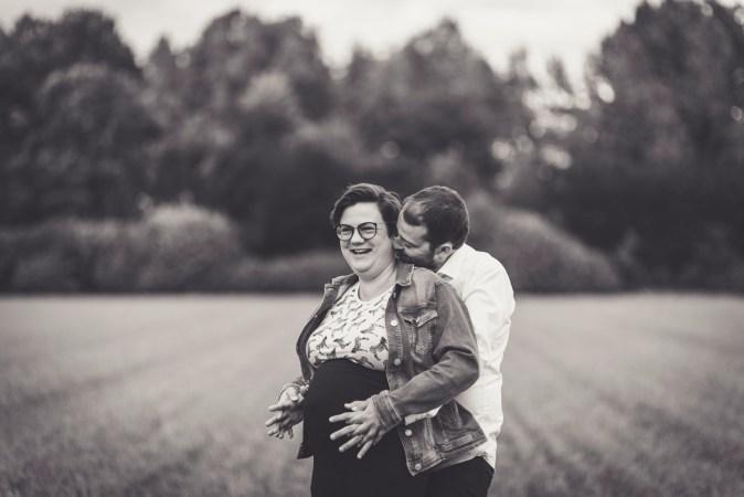 zwangerschapsshoot in Eksaarde, Lokeren