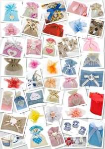 Sacchettini, scatolette ed accessori per bomboniere