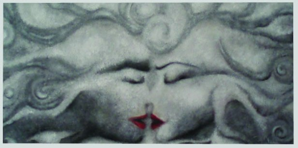 That is all, RasA'11, oil on canvas, 50 x100cm