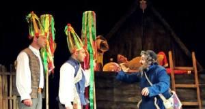"""Spektaklis """"Amerika pirtyje"""" pristatytas Gruzijos publikai"""