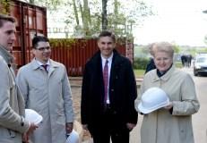 Paminėta elektros jungties su Lenkija statybų pradžia