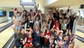 Sutikti Kalėdų į Lietuvą grįžę Londono lietuviai padovanojo šventę vaikams