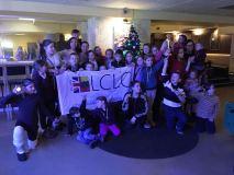 Londono lietuviai vėl džiugino vaikus kalėdinėje šventėje