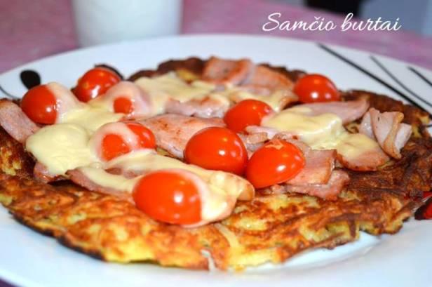 Bulvių pica