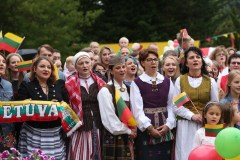 """""""Tautiška giesmė"""" sujungė pasaulio lietuvius"""