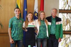 Į Rio de Žaneirą išlydėti trys olimpiados dalyviai iš Alytaus