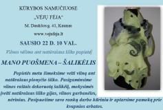Vilnos vėlimo ant natūralaus šilko popietė Kaune