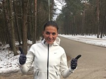 """Maratonininkė D. Lobačevskė: """"Svarbiausia – negalvoti, koks sunkus etapas tavęs laukia"""""""