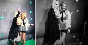 """Su britų muzikos žvaigžde Ellie Goulding susipažinusi I. Stonkuvienė: """"Ji man paliko didžiulį įspūdį"""""""