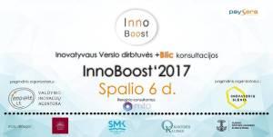 """Vilniuje pirmą kartą rengiamos smulkaus verslo dirbtuvės """"InnoBoost'17"""" kalbės apie kasdienes inovacijas"""