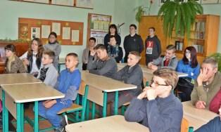 """Projekto pristatymas Tauragės rajono bendrojo ugdymo įstaigų moksleiviams ir pedagogams. Tauragės """"Rotary"""" klubo nuotr."""