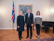 """Dalia Grybauskaitė: """"Lietuva ir Islandija – draugystės ir drąsos pavyzdys"""""""