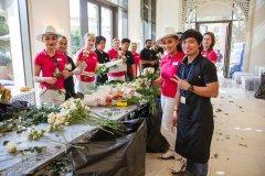 """Dekoravimo mokymus Dubajuje surengusi Inga Budrienė: """"Rengiantis vestuvėms vienu metu darbavosi apie 70 žmonių"""""""