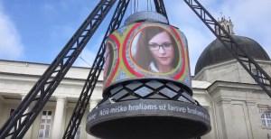 Vilnius kviečia įsiamžinti 100-mečio varpe Katedros aikštėje
