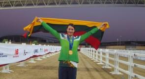 """Pasaulio kariškių čempionė Lina Batulevičiūtė: """"Pergalė suteikia motyvacijos sportuoti dar bent 10 metų"""""""