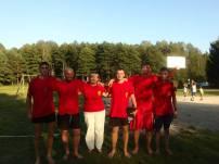 Valkininkų bendruomenės jaunimas tinklinio varžybose užėmė I vietą