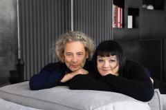 """Režisierė Dalia Ibelhauptaitė atvėrė savo su vyru namų duris: """"Čia kuriame savo pasaulį"""""""