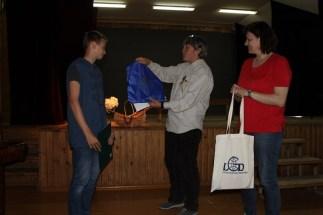 Apdovanojamas Ignas Jakšta