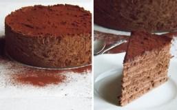 """Šokoladinis tortas """"Triufelis"""""""