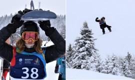 Snieglentininkas Motiejus Morauskas Sarajeve iškovojo sidabro medalį
