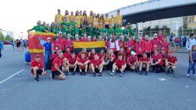 Iš Tarptautinių vaikų žaidynių kauniečiai grįžo su gausiu medalių kraičiu