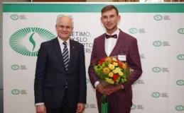 Meilės Lukšienės premijos laureatu tapo istorijos mokytojas Arnas Zmitra