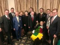 Čikagoje už viso gyvenimo nuopelnus pagerbtas Lietuvos garbės konsulas Stanley Balzekas