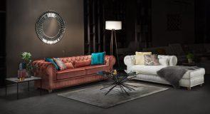 Kaip įrengti kambarį, kai jo akcentas – sofa-lova