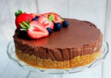 Lengvai pagaminamas šokoladinis tortas