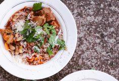Itališka duonos ir pupelių sriuba