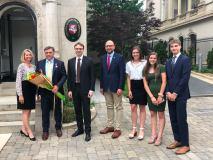 """Ambasadoje Vašingtone įteikti apdovanojimai """"Už pasaulio lietuvių nuopelnus Lietuvai"""""""