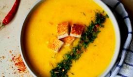 Geltonų saldžiųjų paprikų sriuba