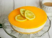 Nekeptas citrininis tortas