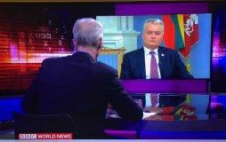 Prezidentas kviečia ES, JAV, Kanadą, Jungtinę Karalystę paskelbti sankcijas Baltarusijos režimui