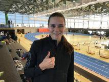 Agnė Šerkšnienė užfiksavo aštuntą rezultatą pasaulyje ir pagerino Lietuvos rekordą!