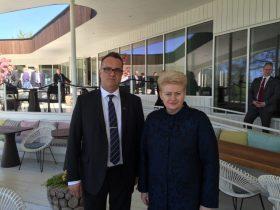 LR Prezidentė su ELB Valdybos pirmininku