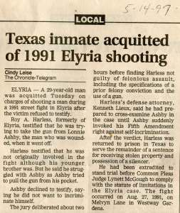 Lieux Law Elyria case verdicts newspaper clippings