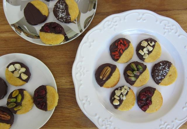 Healthy Christmas Cookies (grain-free, gluten-free, sugar-free, dairy-free)