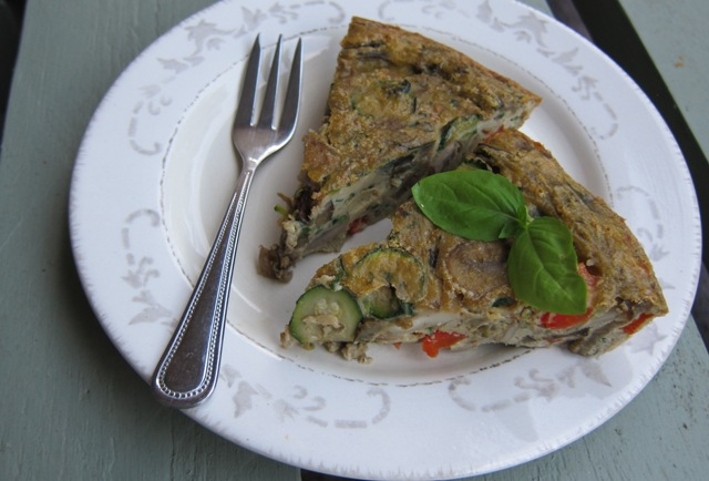 Mixed Vegetable Quiche (grain-free, dairy-free, Paleo)