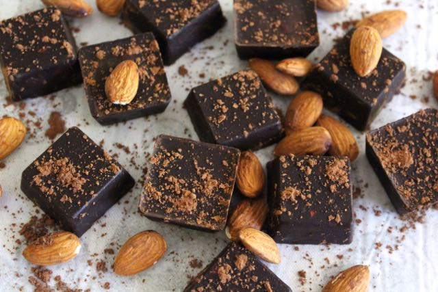 Ginger & Almond Chocolates
