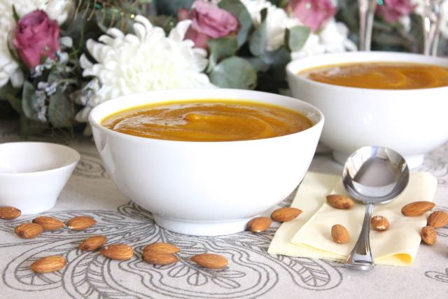 Sweet Potato, Squash, Mushroom & Apple Soup