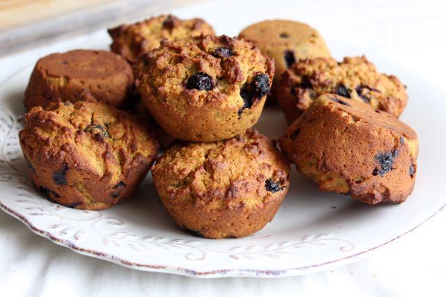 Blueberry, Pumpkin & Pecan Muffins