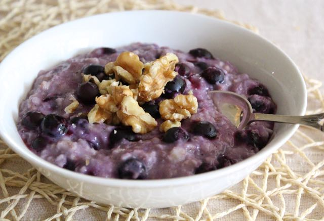 Classic Blueberry Oatmeal
