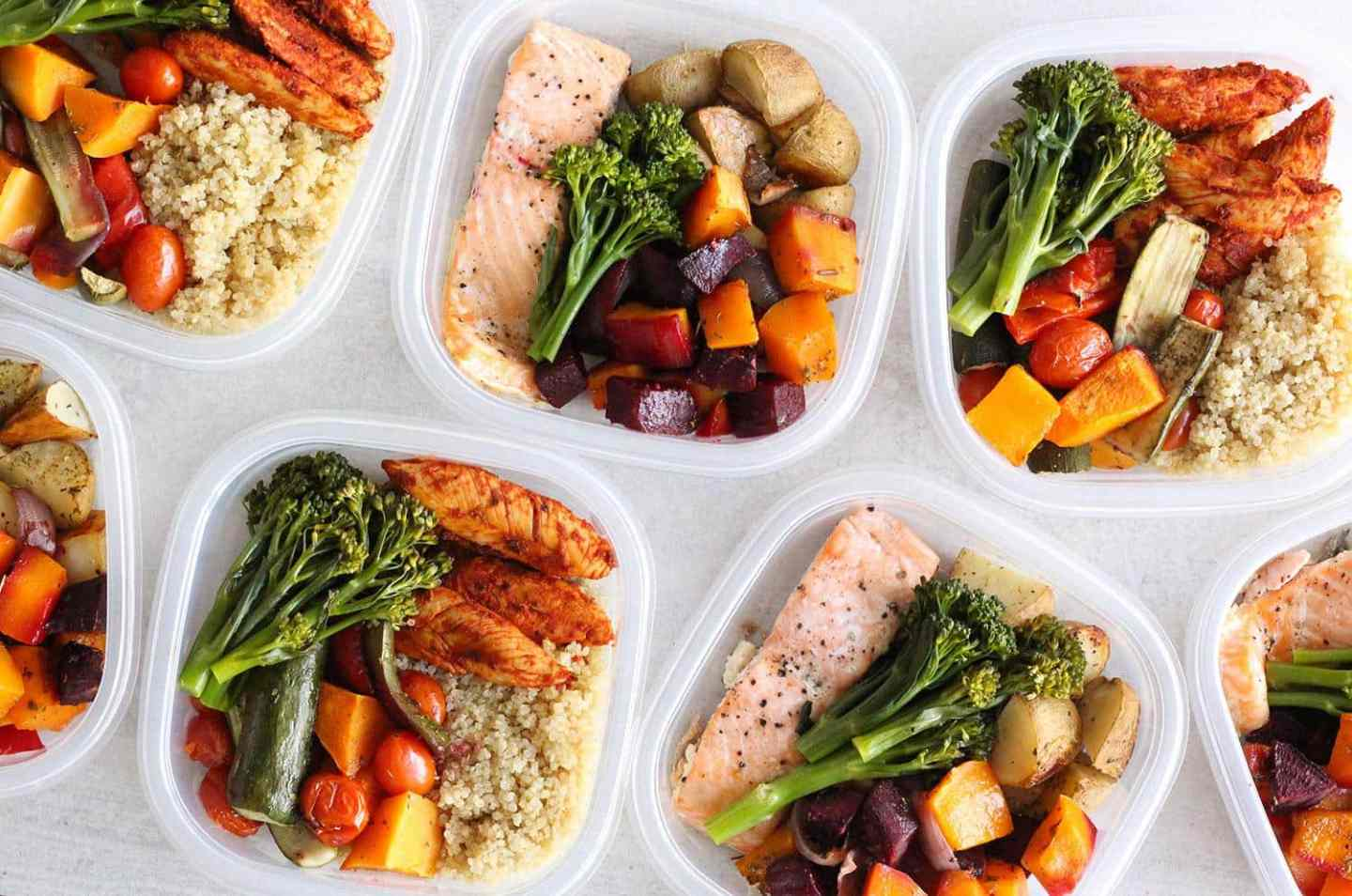 Weight-loss Meal Prep For Women (1 Week in 1 Hour)