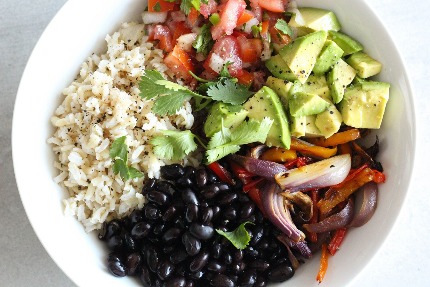 Healthy Chipotle Burrito Bowl Recipe
