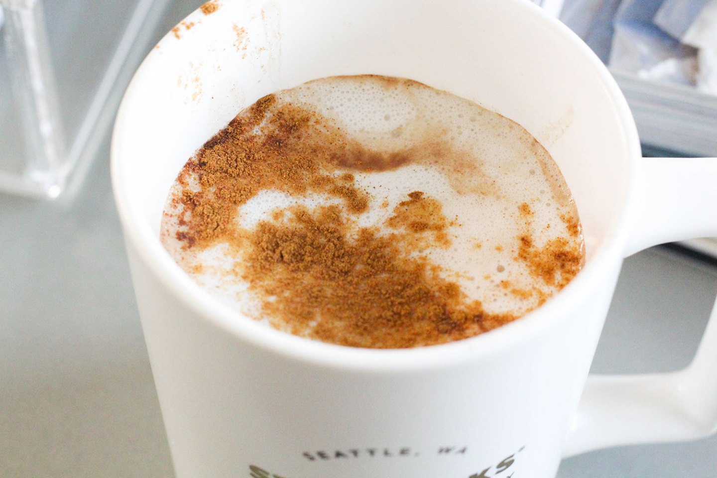 Simple Healthy Hot Cocoa Recipe (dairy-free, sugar-free)